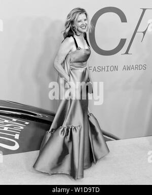New York, NY - June 03, 2019: Lela Rose attends 2019 CFDA Fashion Awards at Brooklyn Museum - Stock Image