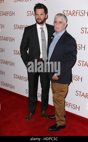 Guests attend red carpet for the UK Premiere of Starfish  Featuring: Tom Riley, Tom Ray Where: London, United Kingdom - Stock Image