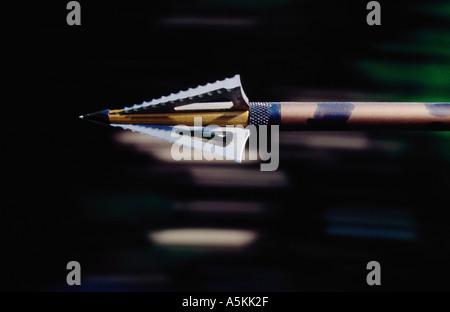 Arrow in flight 1993 - Stock Image
