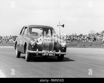 1955 MG Magnette ZA. International trophy Silverstone 7/5/1955 - Stock Image