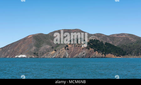 Angel Island, the second largest island in the area of San Francisco Bay, now a California Historical Landmark, San Francisco, California, USA - Stock Image