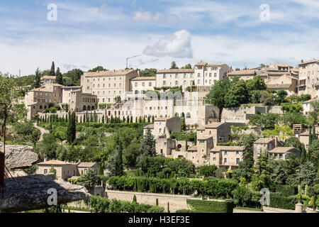 Gordes Medieval City Provence France - Stock Image