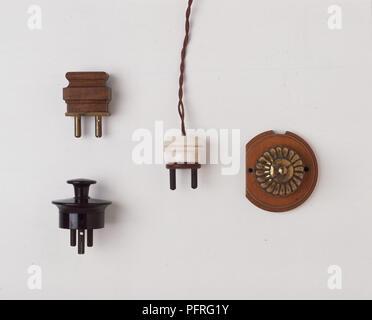 Three Plugs - Stock Image
