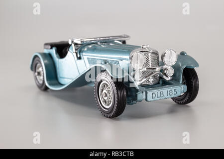 Matchbox Models of Yesteryear Y-1 Jaguar SS100 1936 - Stock Image