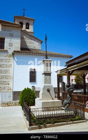 Atarfe, Granada province, Andalusia, Spain : Iglesia Parroquial de Nuestra Señora de La Encarnación (Parish Church of Our Lady) - Stock Image