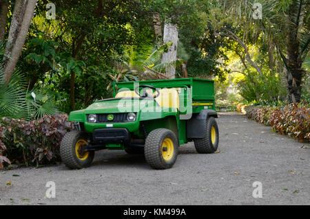 john deere gator utility vehicle - Stock Image