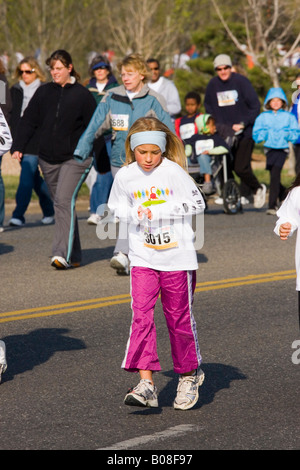 Youth Running - Stock Image