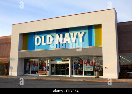 Old Navy Store Front - Stock Image