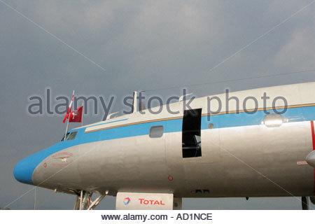 Zeltweg 2005 Airpower 05 airshow Austria Lockheed L 1049 Super Constellation - Stock Image
