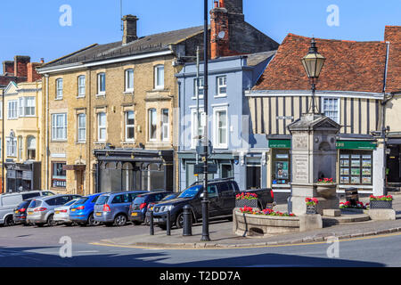 Hadleigh Town Centre, Suffolk, England, UK, GB - Stock Image