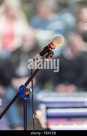 SM58 Shure vocal microphone. - Stock Image