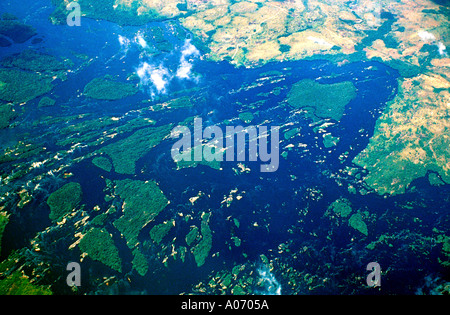 Orinoco Basin, Amazon Jungle, Venezuela - Stock Image