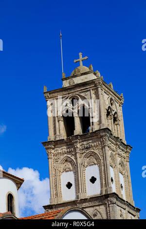 church of the Holy Cross,  Lefkara, Cyprus October 2018 - Stock Image
