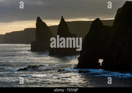 The Stacks of Duncansby, Duncansby Head, Caithness, Scotland, UK - Stock Image