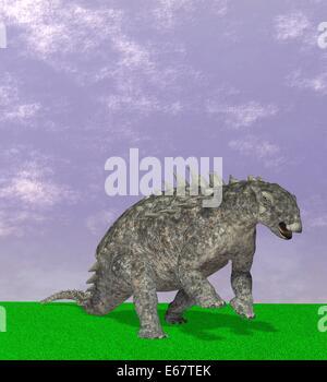 Dinosaurier Polacanthus / dinosaur Polacanthus - Stock Image