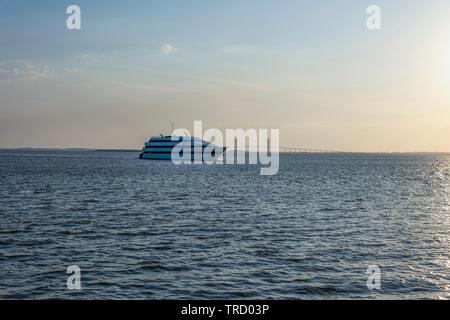 Emerald Princess Casino Cruise Ship - Stock Image