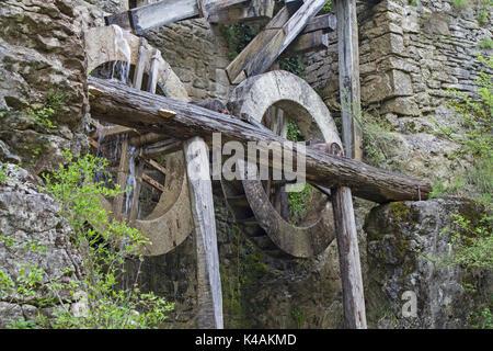 Old Water Mill In Kotli In Croatia - Stock Image