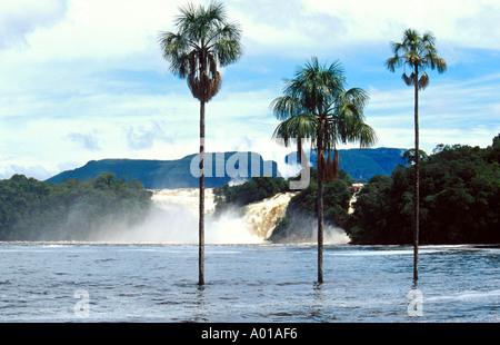 Canaima Waterfalls, Venezuela - Stock Image