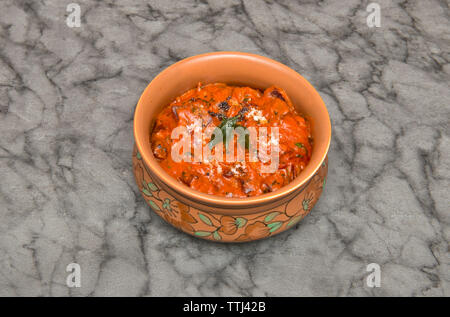 Indian food, Beetroot Poriyal - Stock Image