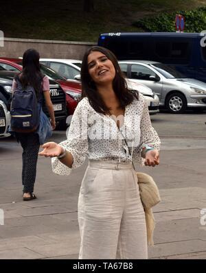 Cayetana Rivera (Tana) during San Isidro Fair 2019 in Madrid  22/05/2019  Cordon Press - Stock Image