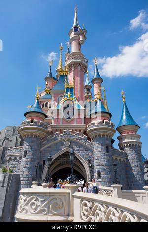 Disneyland Paris - Stock Image