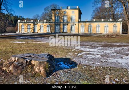 Hagaparken Stockholm Sweden - Stock Image