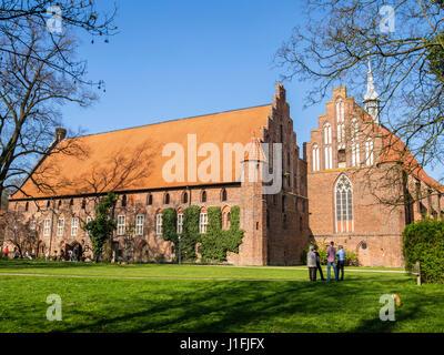 Monastery Kloster Wienhausen,  Wienhausen near Celle, Lower Saxony, Germany - Stock Image