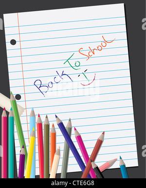 back to school - Stock Image