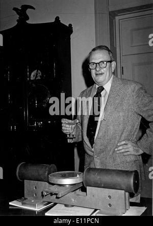 Jun 01, 1979 - Boston, USA - (File Photo; c1979, exact date unknown) ALLAN MACLEOD CORMACK was a South African-born American physicist who won the 1979 Nobel Prize in Physiology or Medicine for his work on x-ray computed tomography (CT). - Stock Image