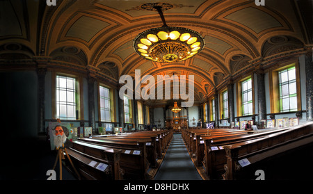 Saltaire United Reformed Church , (Congregational church) - Stock Image