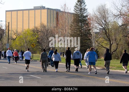 Pack on Cherry Creek - Stock Image