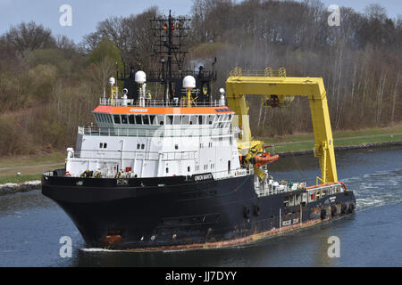 Offshore Tug Union Manta - Stock Image