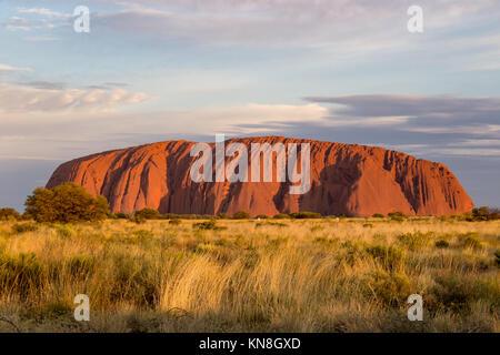 Uluru Ayers Rock Outback Australia - Stock Image