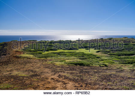 Ihi'ihilauakea Crater, Koko Head, Koko Head District Park, Hawaii Kai, Oahu, Hawaii, USA - Stock Image