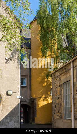 Old Playhouse Close, off Canongate, Edinburgh, Scotland, UK - Stock Image