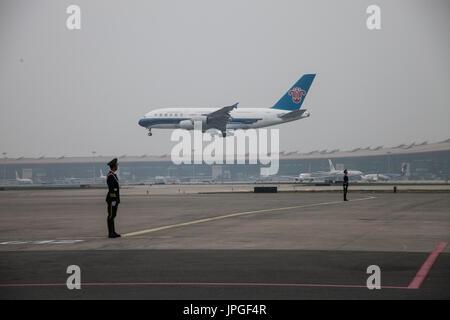 Beijing Capital Airport - Stock Image