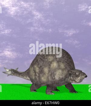 Dinosaurier Doedicurus / dinosaur Doedicurus - Stock Image