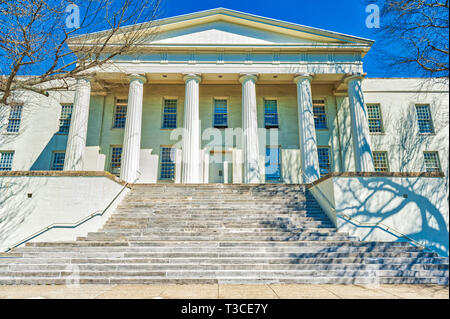 Old Morrison, a National Historic Landmark located on the campus of Transylvania University in Lexington Kentucky. - Stock Image