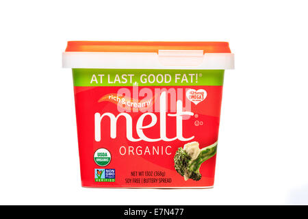 Melt Organic Buttery Spread - Stock Image
