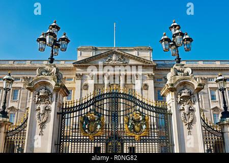 Buckingham Palace, London, England, United Kingdom - Stock Image
