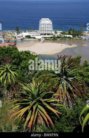 Beacon Island Hotel, Plettenburg Bay, Western Cape Province, South Africa. - Stock Image
