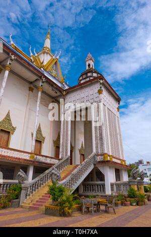 Wat Tuol Tom Poung, Phnom Penh, Cambodia, Asia - Stock Image