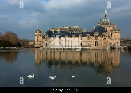 Château de Chantilly, Chantilly, Oise, France - Stock Image
