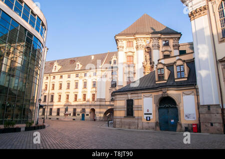University of Wroclaw, seen from the back. Poland - Stock Image