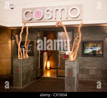 Cosmo restaurant in Britain - Stock Image
