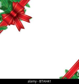 Christmas Gift Border - Stock Image