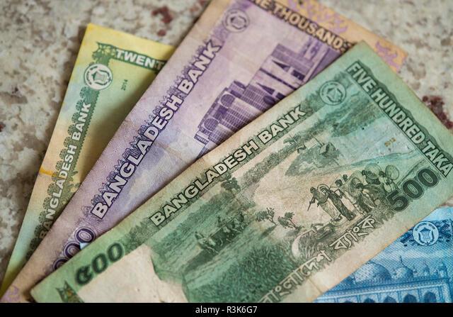 Bangladesh. Bengal currency, the Taka Stock Photo - Alamy