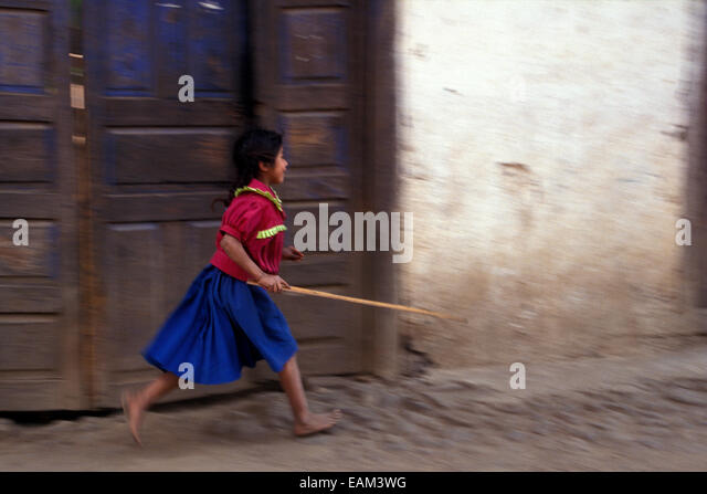 purepecha-or-tarascan-girl-running-down-