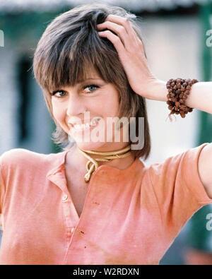 KLUTE 1971 Warner Bros Film mit Jane Fonda Stockbild