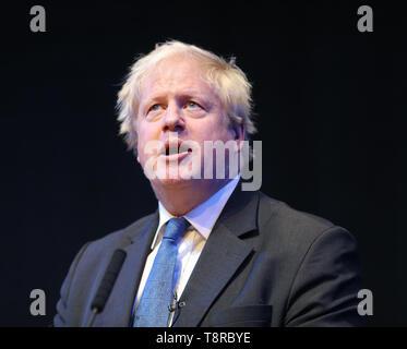 BORIS JOHNSON MP, 2018 Stockbild